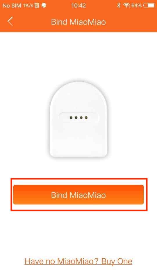 How to bind a MiaoMiao? – Tomato App